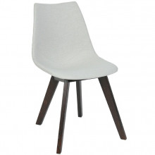"СТУЛ ""CARRIE"" chair wooden legs, т/к 3"