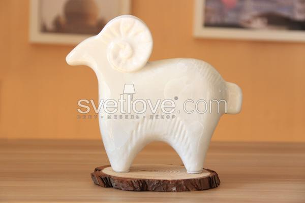 "ФАРФОРОВАЯ СТАТУЭТКА ""SHEEP"" SMALL"