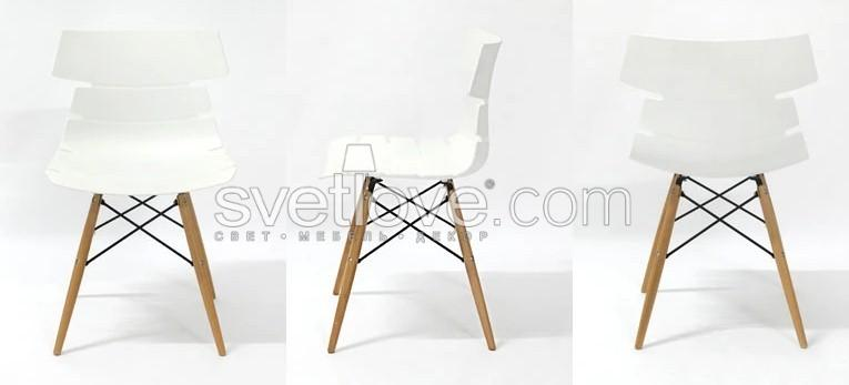 "СТУЛ ""STREAK WOOD"" WHITE"