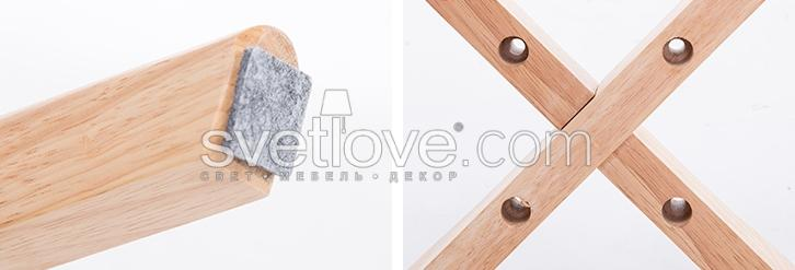 "СТУЛ ""MODERN WOOD"" LIGHT WOOD YELLOW"